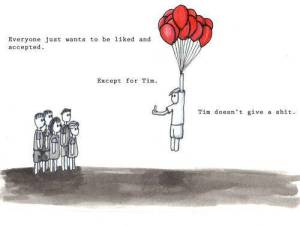 Tim doesn' t care meme from Facebook